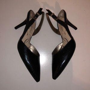 🆕NWOT💙Sam & Libby💙Black slingback Heels.